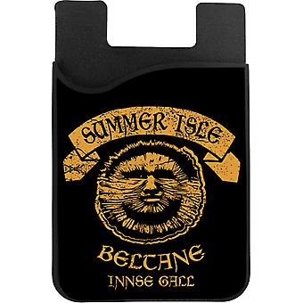 The Wicker Man Summer Isle Beltane May Day Festival Phone Card Holder