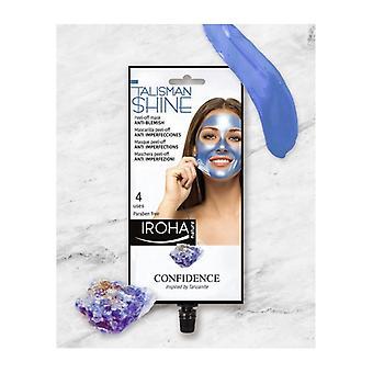 Facial Mask Peel Off Blue Tanzanite Anti-blemish Iroha
