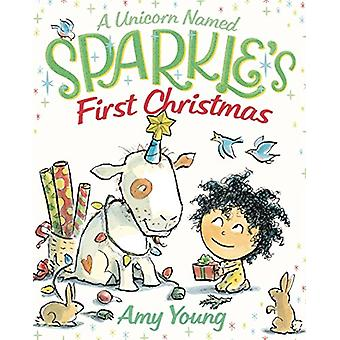 Une licorne nommée Sparkle-apos;s First Christmas par Amy Young - 978037431210