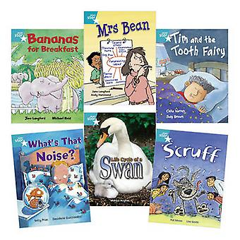 Learn at Home -Star Reading Turquoise Level Pack (5 Fiction and 1 Non-