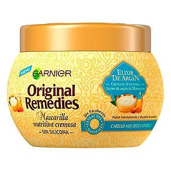 Nærende hår maske Elixir De Argán Opprinnelige Rettsmidler Fructis (300 ml)