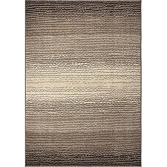 """62""""x 90""""x 0.31"""" Abstract Frappe Area Rug"""