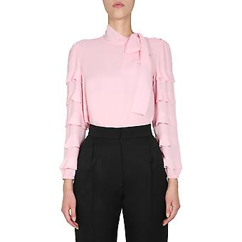 Red Valentino Ur3abd9549ggc7 Women's Pink Polyester Blouse