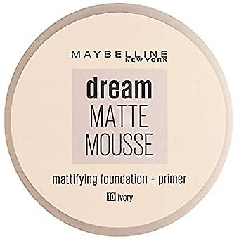 Maybelline Dream Matte Mousse Foundation 18ml - 010 Ivoor