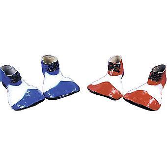 Clown Shoe Rubr Blue White