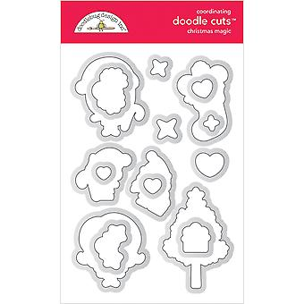 Doodlebug Design Christmas Magic Doodle Cuts