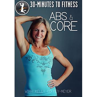 30 Minutes to Fitness: Abs & Core [DVD] USA import