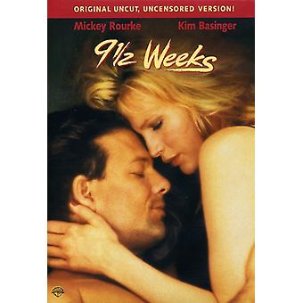 9 1/2 Weeks [DVD] USA import