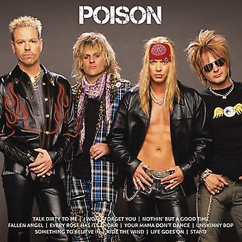 Poison - Icon [CD] USA import