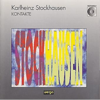 K. Stockhausen - Karlheinz Stockhausen: Kontakte [CD] USA import