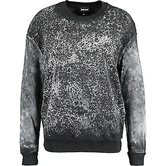 Just Cavalli S04GP004 900 Crew Neck Jumper