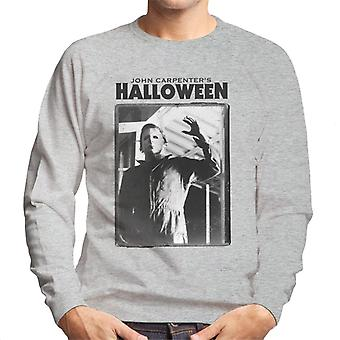 Halloween Michael Myers Portrait Men's Sweatshirt