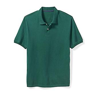 Essentials Men&apos's Big & Tall Cotton Pique Polo Shirt passar av DXL, Hunter...