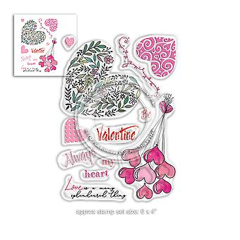 Polkadoodles Splendoured Love Clear Stamps