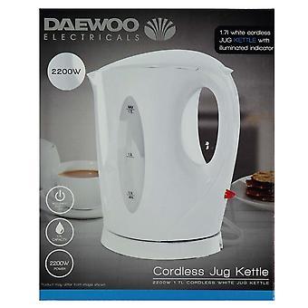 Daewoo Unisex Cordless Jug Kettle
