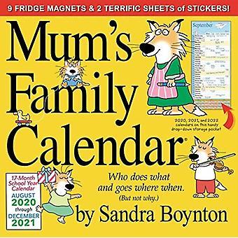 2021 Mums Family Calendar by Boynton & Sandra