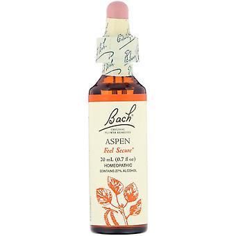 Bach, Original Flower Remedies, Aspen, 0.7 fl oz (20 ml)