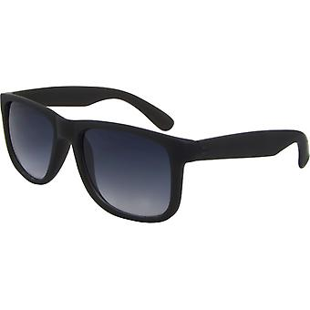 Sunglasses Unisex Wayfarer Kat. 3 matt black/grey (8240-A)