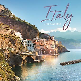 Italy Mini Square Wall Calendar 2021
