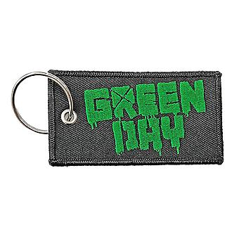 Green Day Logo Double Sided Patch Keyring