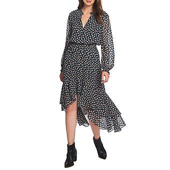 1.State | High-Low Flounce Blouson Dress