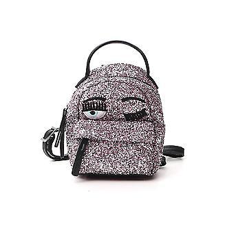 Chiara Ferragni Cfz077pnk Femmes's Pink Glitter Sac à dos