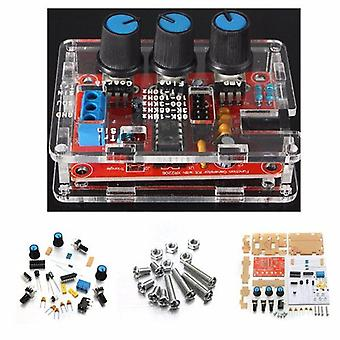 Function signal generator diy kit sine triangle square output 1hz-1mhz
