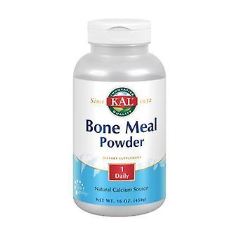 Kal Bone Meal, Maustamaton 16 Oz