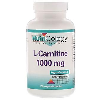 Nutricologie L-Carnitine, 100 tabbladen