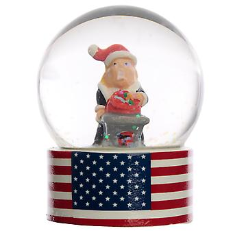 Collectable Chritmas The President Snow Globe Waterball