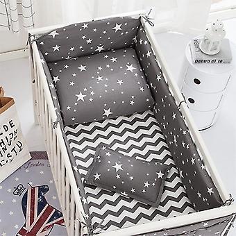 Baby Bedding Set, Cartoon Crib Pat Bumper, Nou-născuți Foaie Plapumă Capac