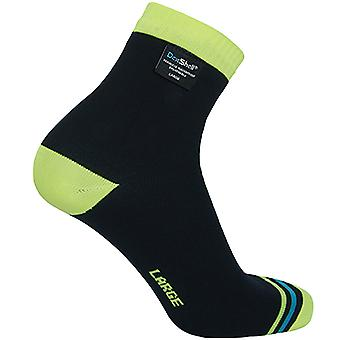 DexShell Ultralite Waterproof Breathable Biking Socks - Black/Hi-Vis Yellow