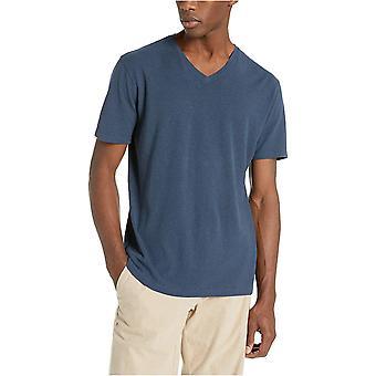 Merk - Goodthreads Men's Linnen Katoen V-Neck T-Shirt