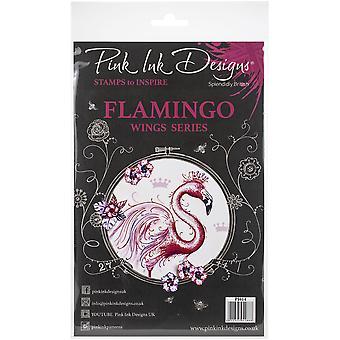 Pink Ink Designs A5 Clear Stamp Set - Flamingo