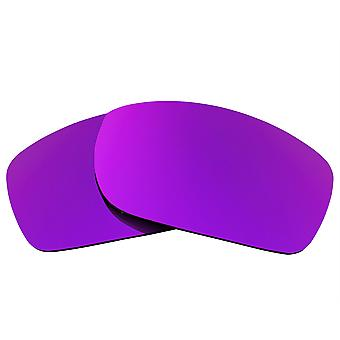Replacement Lenses for Oakley Fives Squared Sunglasses Anti-Scratch Purple