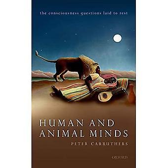 Menneske- og dyreser sind: Bevidsthed spørgsmål lagt til hvile