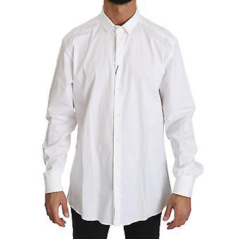 Dolce & Gabbana Valkoinen Puuvilla Casual Miesten Top shirt