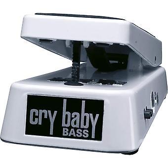 Dunlop crybaby bass wah pedal bass wah - white