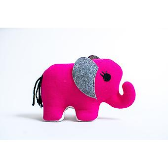 Rose Pink-small Elephant Stuffed Toy