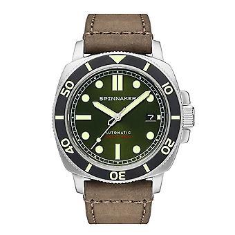 Montre-bracelet Spinnaker SP-5088-03 Gent's Hull Diver Green Dial