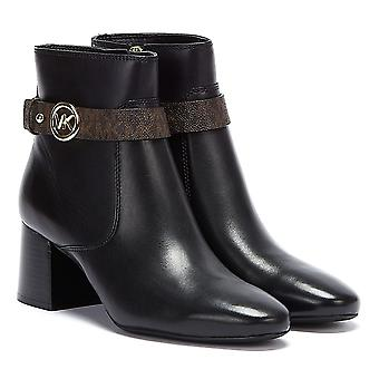 מייקל קורס אביגיל Flex נשים שחור / חום מגפיים