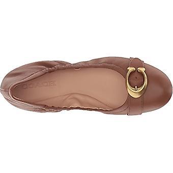 Coach Womens STANTON BLT Cuir Fermé Toe Ballet Flats