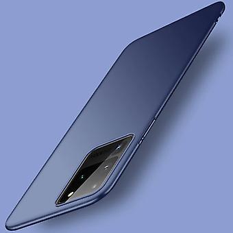 USLION Samsung Galaxy Note 20 Magnetic Ultra Thin Case - Hard Matte Case Cover Dark Blue