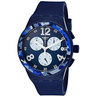 Swatch Men's Camoblu Blue Dial Watch - SUSN414