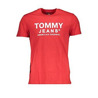 טומי הילפיגר חולצת טריקו שרוולים קצרים גברים DM0DM08349