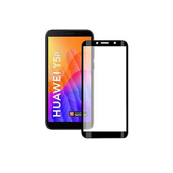 Gehärtetes Glas Bildschirm Schutz Huawei Y5P KSIX Vollkleber 2.5D
