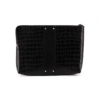 Le Parfait L - Black - Smooth/Croco Leather