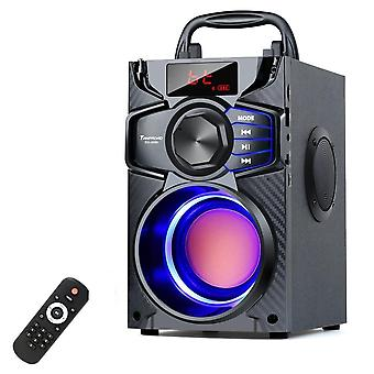Bluetooth 10w Portable -wireless Stereo Bass Big Party Speakers