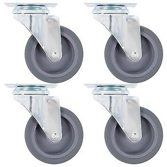 8 kpl. ohjauspyörät 75 mm