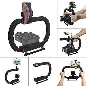 Hydra stabilizer handheld camera stabilizer dc+dv 2-hand holder camera steadycam mount hand grip sho